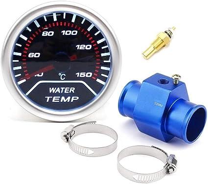 52mm Water Temp Gauge With Sensor 40~120 2 Car Water Temperature Universal Auto Meter