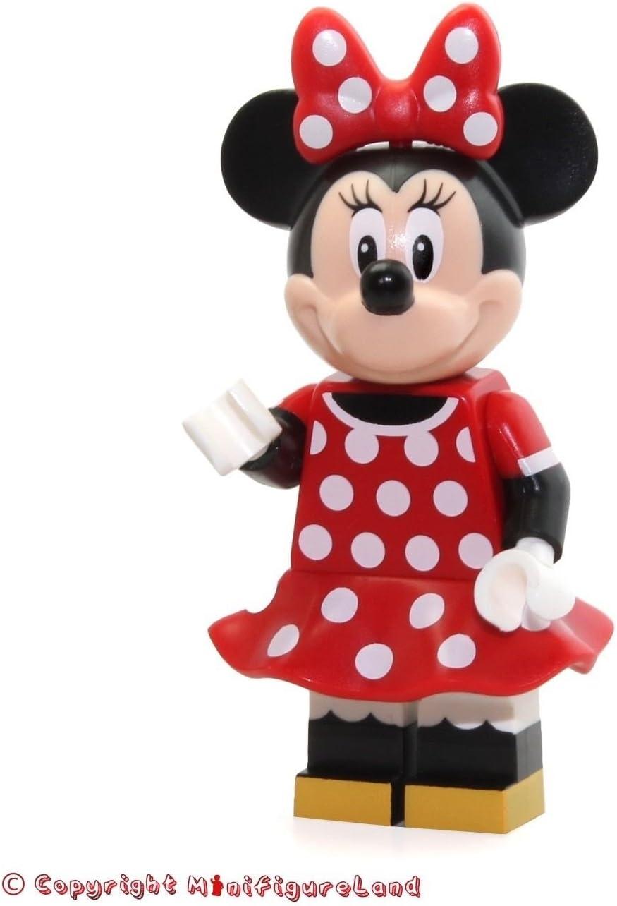 LEGO Disney Castle Minifigure - Minnie Mouse Red Polka Dot Dress (71040)