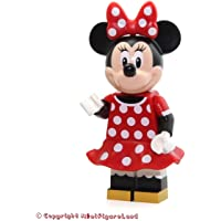 LEGO Disney Castle Minifigure - Minnie Mouse Red Polka Dot Dress (71040)