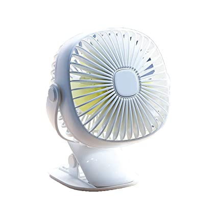 Mini Usb Rechargeable Air Cooling Fan Clip Desk Fan Dual Use Home Student Dormitory Bedside Portable Desktop Office Fan Fans