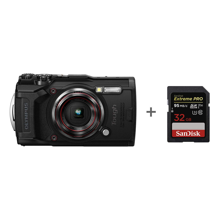 Olympus TG-6 Tough Camera - Tarjeta de Memoria (32 GB ...