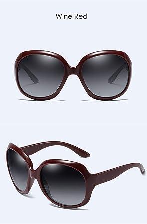 GYBTYJDD Moda Gafas de Sol polarizadas, Elegantes Gafas de ...