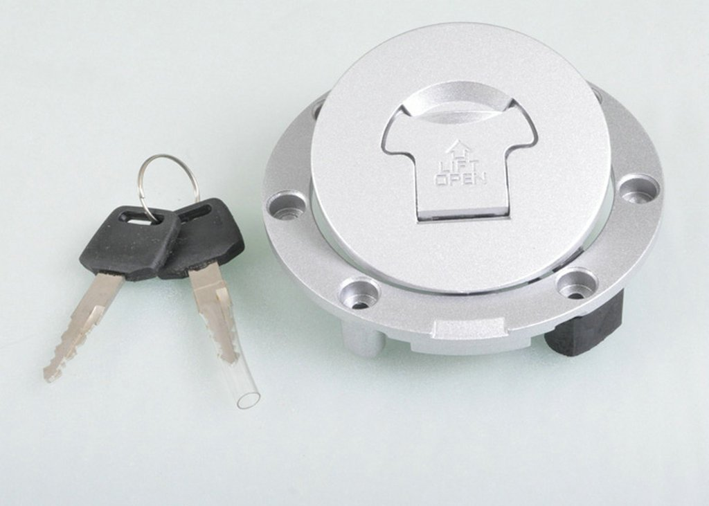 Sunny New Gas Tank Cap + key For CB400 CBR600 CBR900 CBR1000 CBR919 CBR929 CBR954 F4 F4I