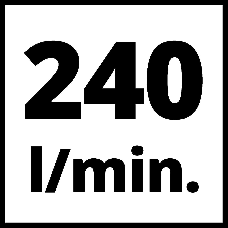 1 Cilindro TH-AC 240//50//10 of Einhell Compressore 50 L 10 Bar Potenza 240 L//Min 1500 W