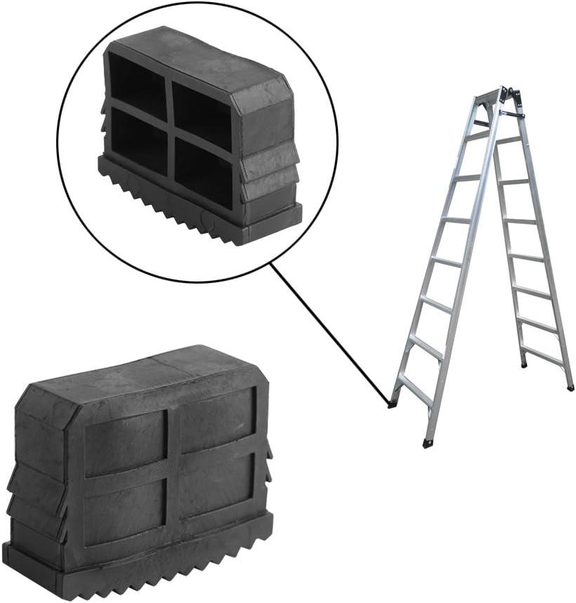 Universal pies de goma para escaleras de mano, Contera escalera antideslizante 2 Unidades: Amazon.es: Bricolaje y herramientas