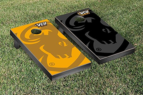 Virginia Commonwealth Rams Regulation Cornhole Game Set Watermark Version by Victory Tailgate