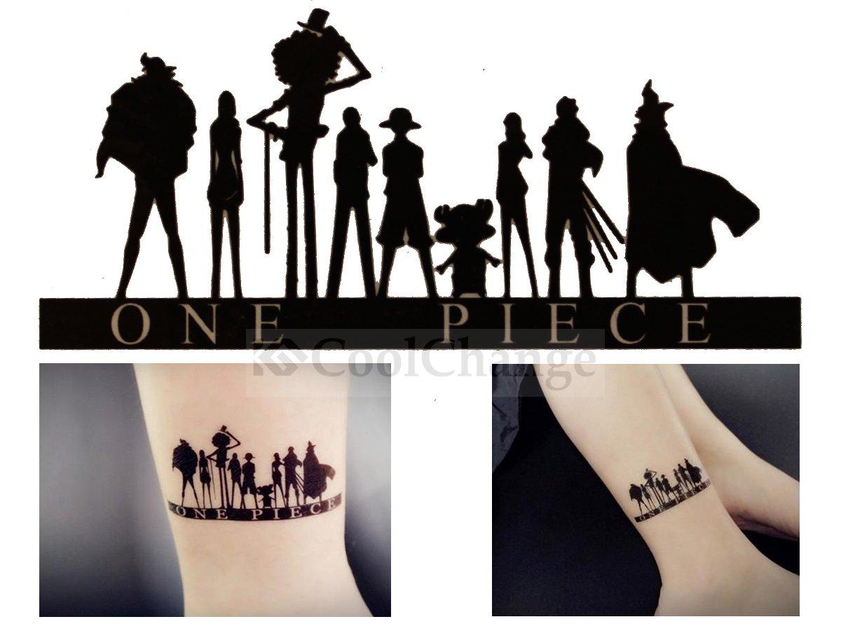 Cool Change One Piece tatuaje temporal adhesivo, diseño: Sombra ...
