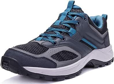 CAMEL CROWN أحذية المشي للرجال تنس تريل الجري حقيبة الظهر المشي أحذية مريحة مقاومة للانزلاق أحذية رياضية خفيفة الوزن رياضية للرحلات منخفضة أعلى جزمة سوداء 8D(M)