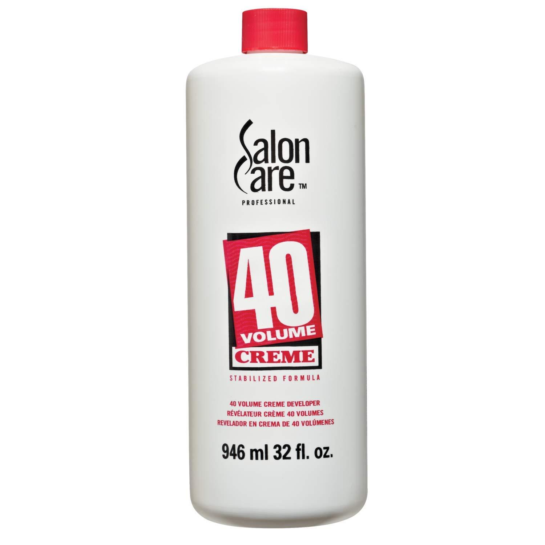 Salon Care 40 Volume Creme Developer, 32 oz