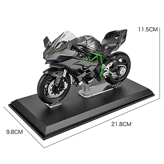 PENGJIE-Model Modelo de Moto 1/12 Ninja Modelo de ...