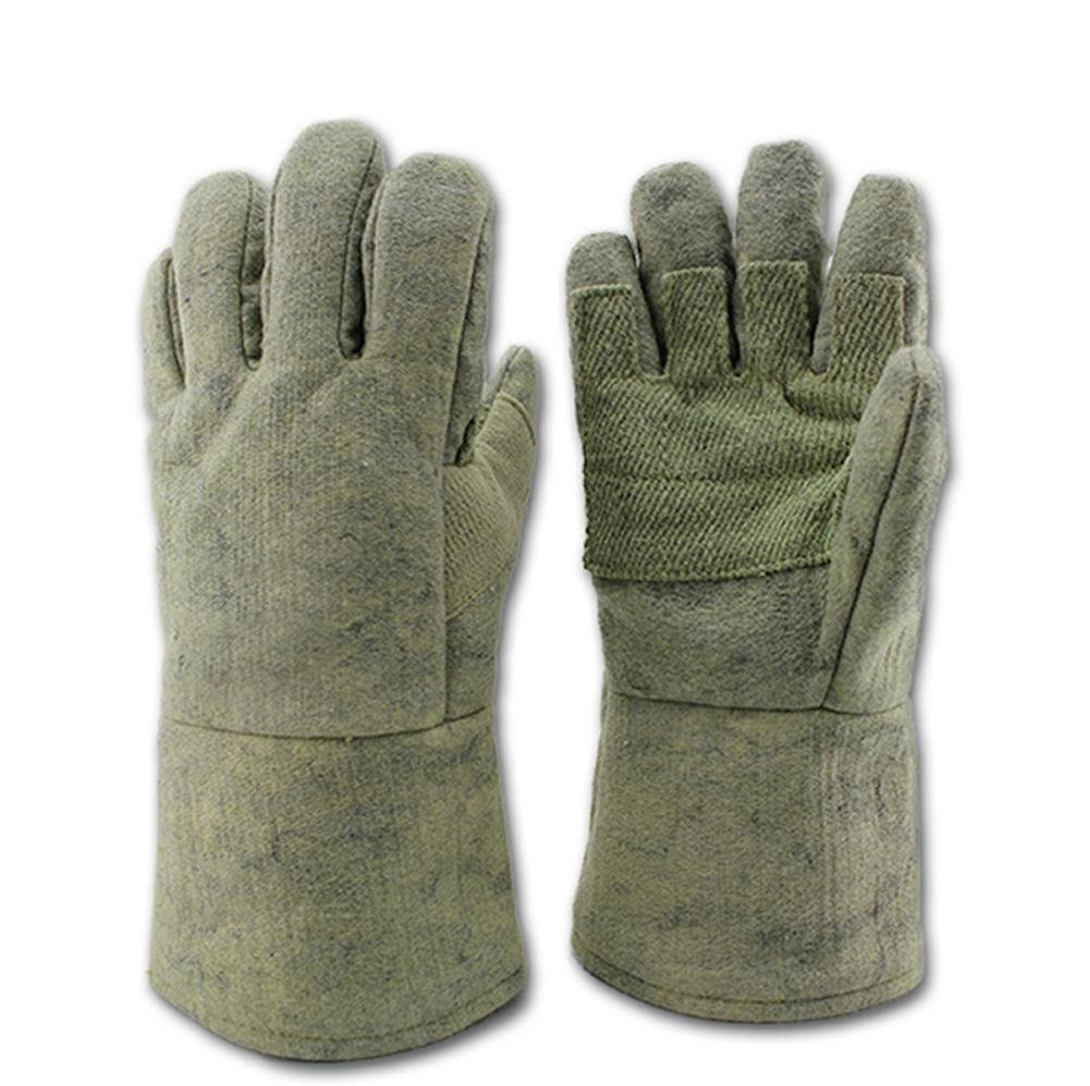 Anti - high temperature 500 ° glove insulation fire - retardant fire protection labor insurance products