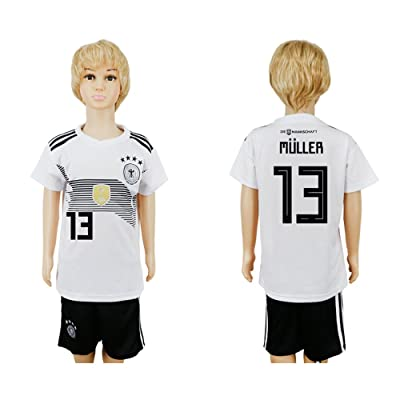 YJL 2018 World Cup Germany National Team #13 Soccer Jersey Kids/Youths Size