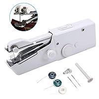 Mini Nähmaschine, ARTISTORE Tragbare Handnähmaschine Schnellstichwerkzeug für Kleidung Stoff