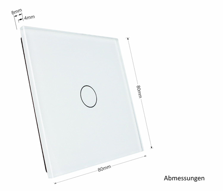 Ungewöhnlich Einfache Lichtschaltung Mit Schalter Ideen - Schaltplan ...