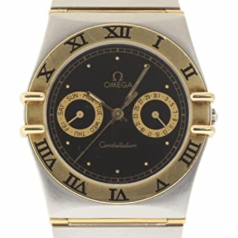 adc4ed7fb92 Amazon.com  Omega Constellation Swiss-Quartz Male Watch 396.1080.1 ...