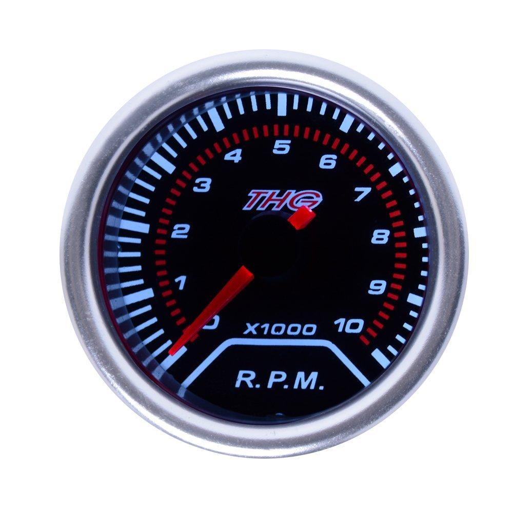 THG 2' 52mm Zusatzinstrument Tachometer Drehzahlmesser #CAR8022T-2 THG Auto-parts