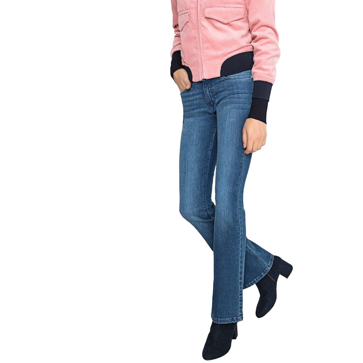 La Redoute Collections Womens Push Up Bootcut Jeans, Length