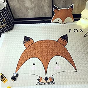 IHEARTYOU Baby Crawling Mat Cute Animal Play Carpet Children Bedroom Decor Living Room Rugs