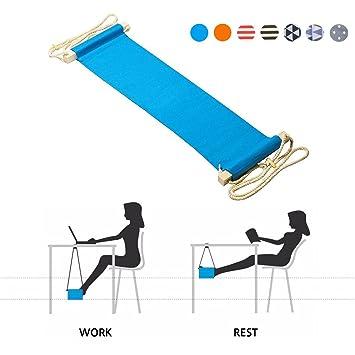 Repose pied hamac pour pieds au bureau réglable portable parfait pour soulager vos pieds