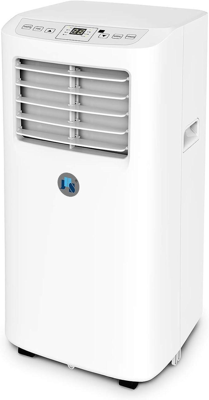 JHS 8,000 BTU Small Portable Air Conditioner 3-in-1 Floor AC Unit