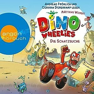 Die Schatzsuche (Dino Wheelies 1) Hörbuch