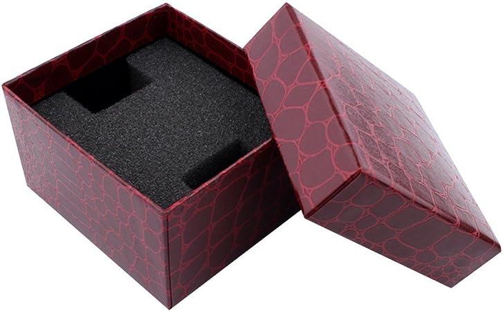 Caja de joyería actuales cajas de regalo para los regalos de los pendientes del collar del reloj de la pulsera del brazalete: Amazon.es: Hogar