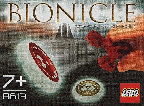 Lego Technic Bionicle - Lego Bionicle Mini Box Set #8613 Metru Nui Kanoka Disk Launcher