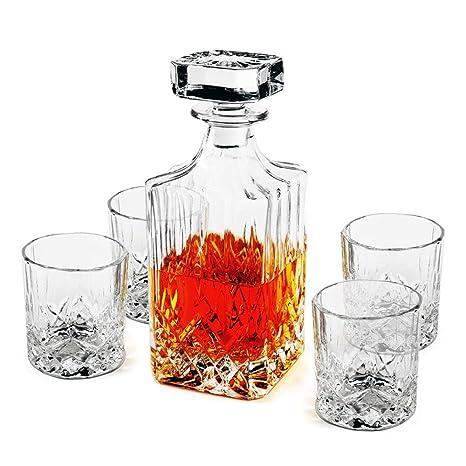 Amazon.com: Juego de 5 piezas de decoración – vasos de ...