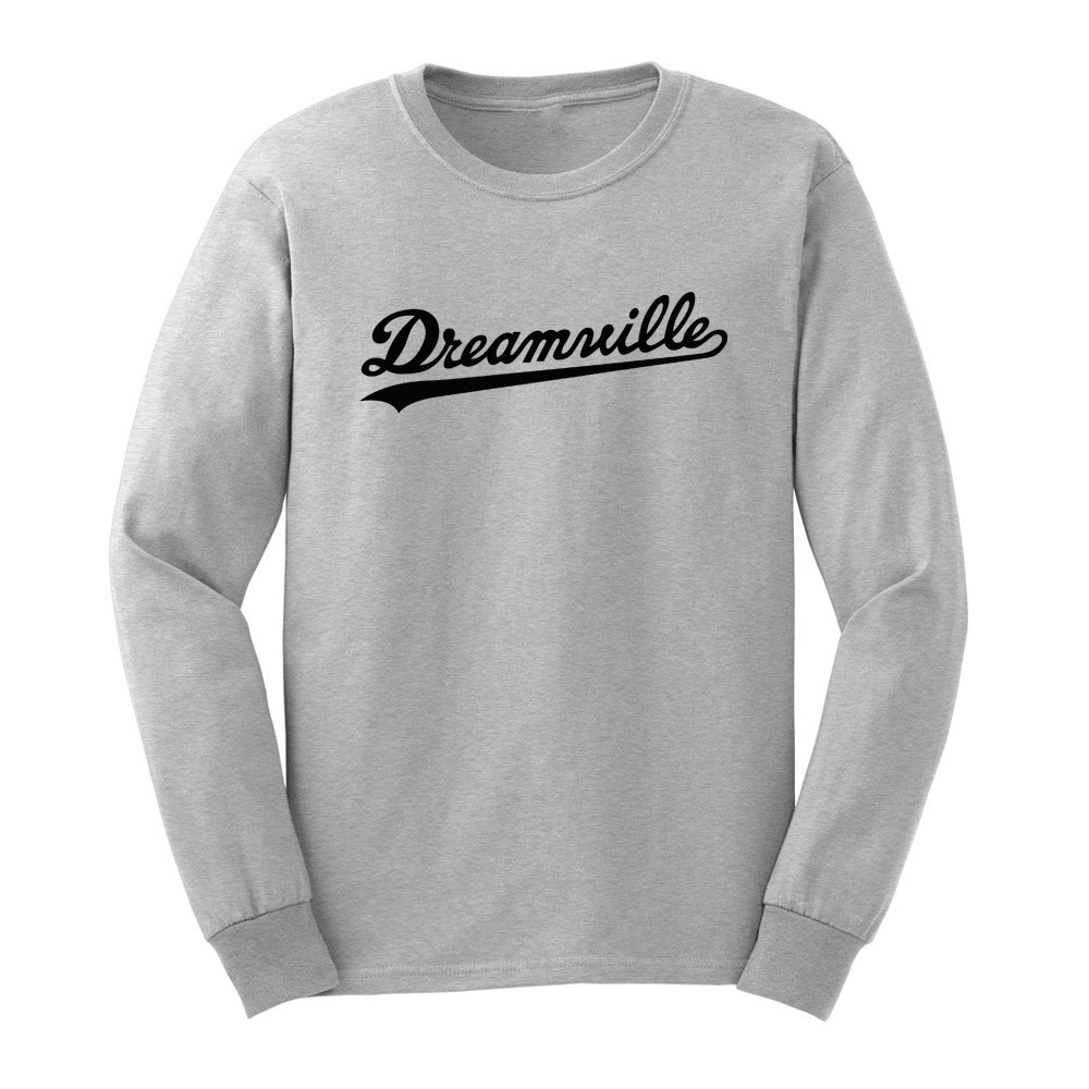 Loo Show Mens Dreamville Records Long Sleeve T-Shirts Casual Men Tee