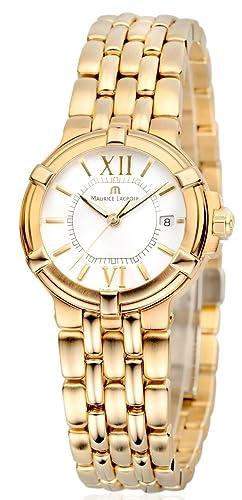 Maurice Lacroix Calypso CA1104-YP016-110-1 - Reloj de pulsera para mujer
