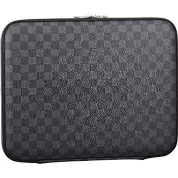 new concept 6e941 e6659 Amazon.com : Louis Vuitton Laptop Sleeve N58031 : Cosmetic Tote Bags ...