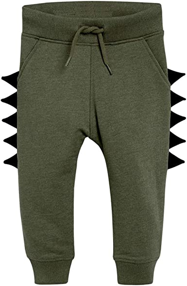 URMAGIC Baby Boys Pants,Toddler Kids Boys Dinosaur Shape Trousers Children Tracksuit Bottoms Joggers Training Jogging Khaki//Green//Blue