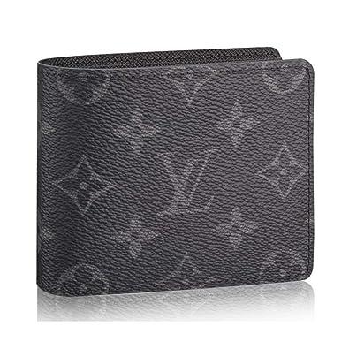 a742bba9bf08 Amazon.com  Louis Vuitton Monogram Eclipse Canvas Slender Wallets Article   M62294  Shoes