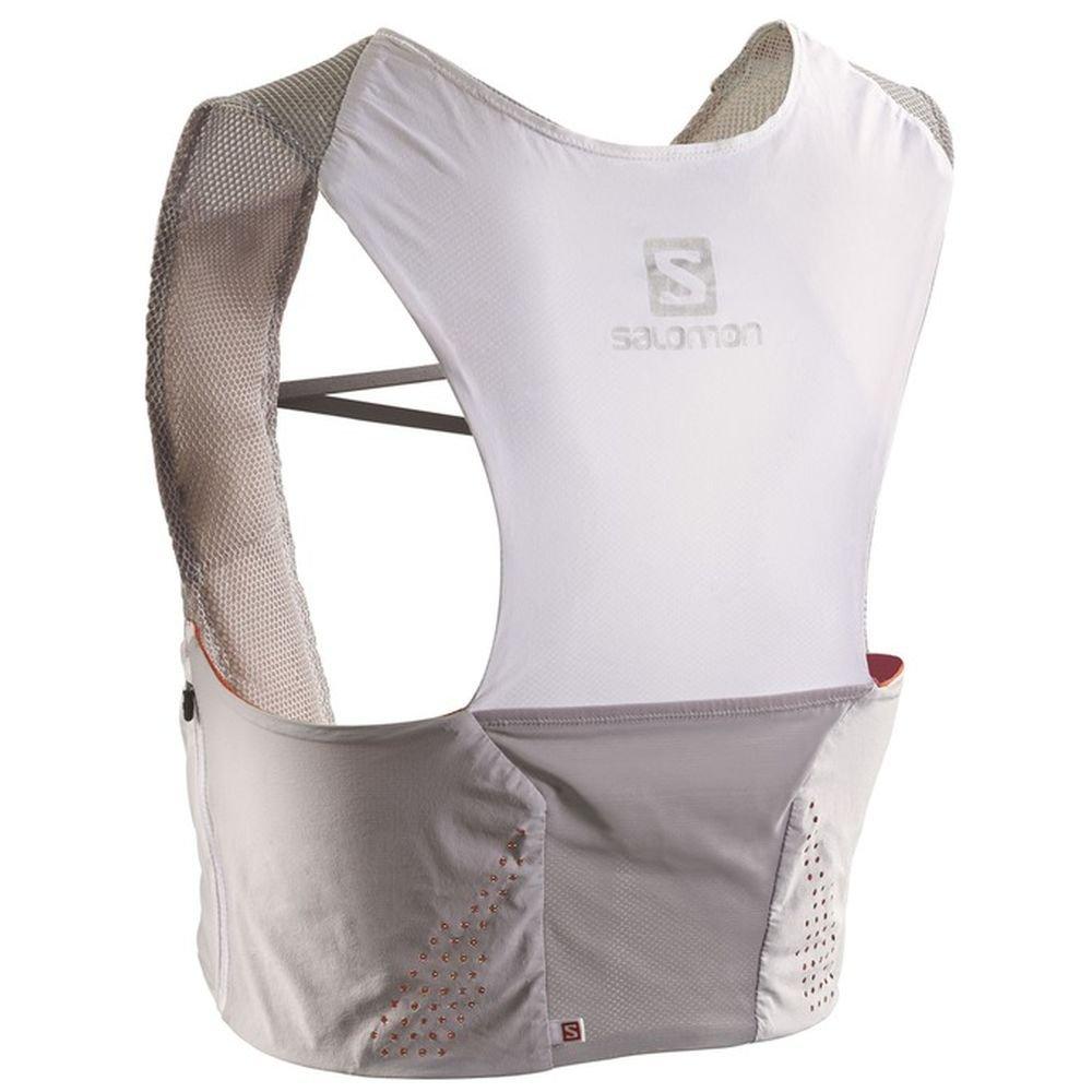 new style 27439 48f56 Salomon Backpack S-Lab Sense Ultra Set Alu Rd Wh - Backpack, Unisex, Silver,  Size XL  Amazon.co.uk  Sports   Outdoors