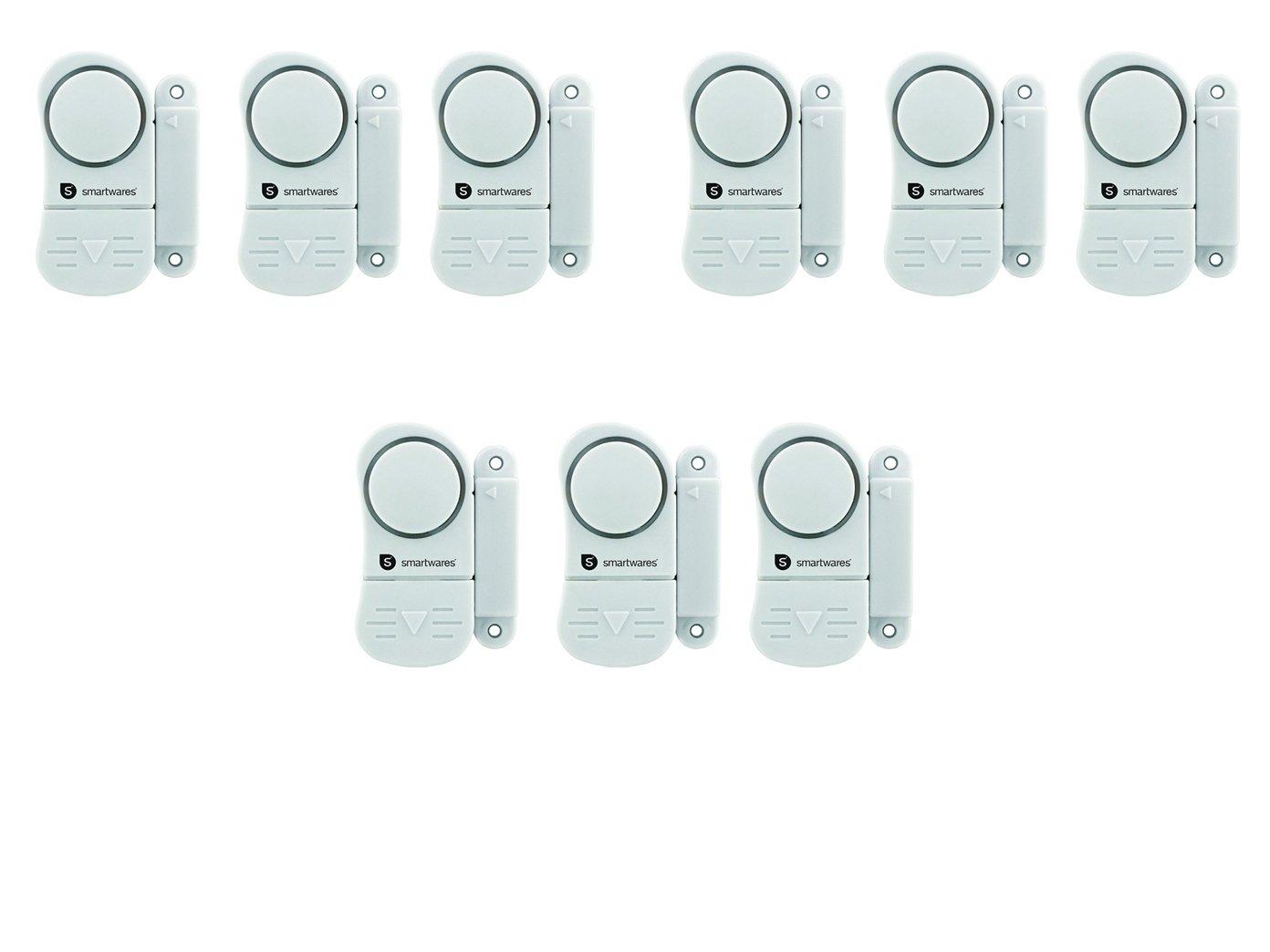 3/einruch de protection; SC07//SW Smartwares 9/Set de mini alarme de porte et fen/être Alarme 95/dB