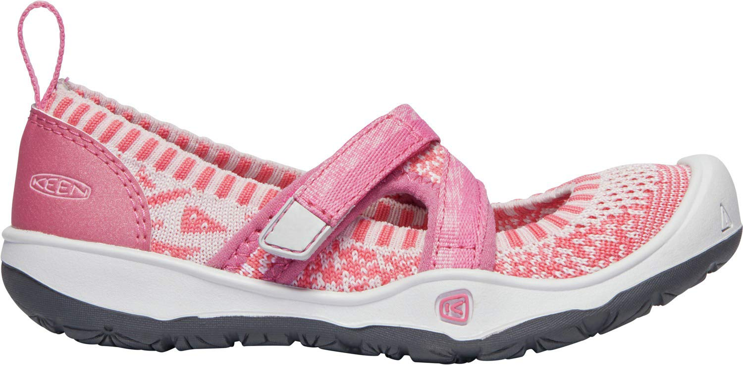 Keen - Kids Moxie Sport Mary Jane Shoes, Rapture Rose/Powder Pink, 8 M US Big Kid