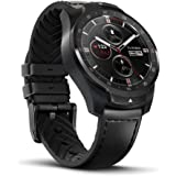 TicWatch Pro Bluetooth Smart Watch Layered Display NFC Payments Google Assistant Android Wear Compatible with iOS and Android (Black)