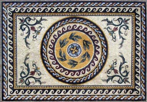 (Mozaico Roman Marble Mosaic | Mosaic Designs | Mosaic Artwork | Mosaic Wall Art Handmade Mosaics | 67