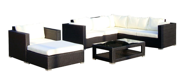 Ansprechend Eck Wohnlandschaft Das Beste Von Baidani Gartenmöbel-sets 10c00020.00001 Designer Lounge-wohnlandschaft Sunset, Eck-sofa,