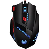 Criacr 8-Button Optical Wired Gaming Mouse