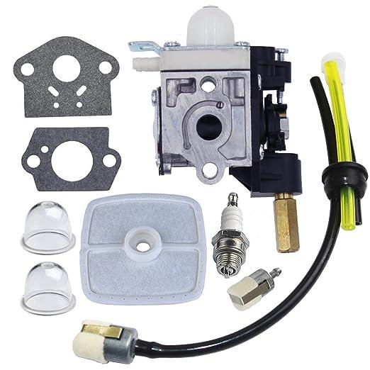 huztl carburador con Kit de mantenimiento de combustible bujías ...
