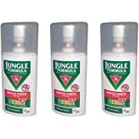 3X JUNGLE FORMULA MOLTO FORTE - Spray da 75ml - REPELLENTE ANTIZANZARE FATTORE 4