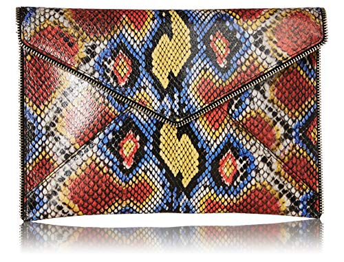 Rebecca Minkoff Leo Clutch, Yellow Multi