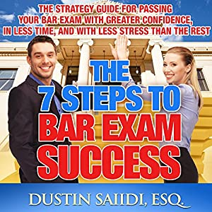 The 7 Steps to Bar Exam Success Audiobook