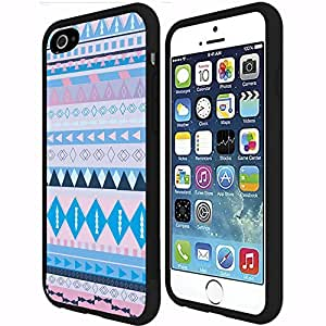lintao diy Colorful Cotten Candy Tribal Pattern RUBBER Snap on Phone Case (iPhone 6 Plus)