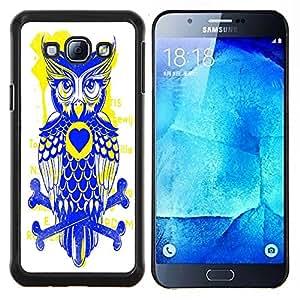 Dragon Case - FOR Samsung Galaxy A8 A8000 - forward of the parrot - Caja protectora de pl??stico duro de la cubierta Dise?¡Ào Slim Fit