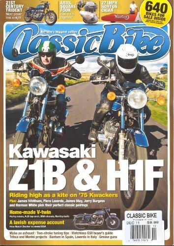 Classic Bike Magazine December 2011