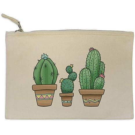 Azeeda Cactus Trio Bolso de Embrague / Accesorios Case (CL00015247)