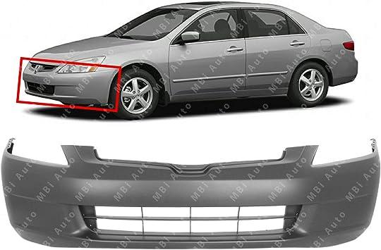 Front Bumper Cover For 2003-2005 Honda Accord Sedan Primed