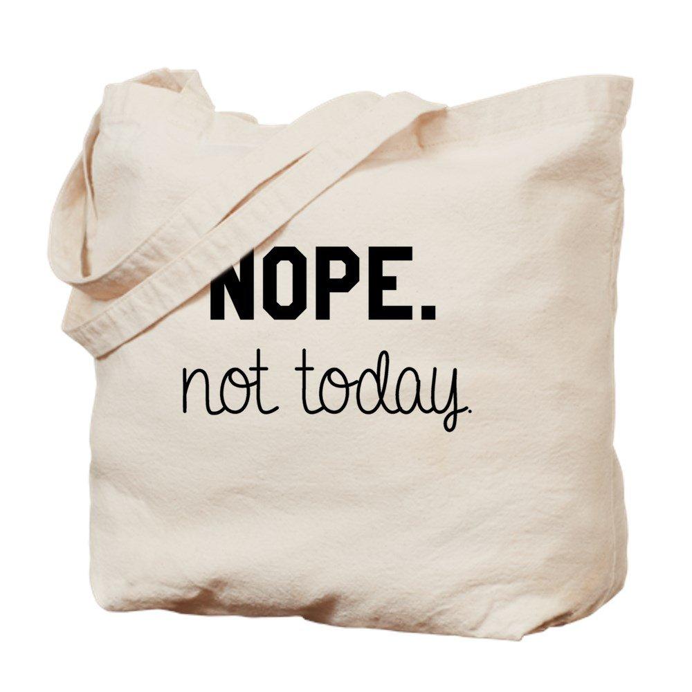 CafePress – Not Today Mug – ナチュラルキャンバストートバッグ、布ショッピングバッグ B01LSW4YWS